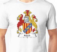 Mack Coat of Arms / Mack Family Crest Unisex T-Shirt