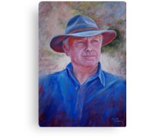 Portrait of Bruce Canvas Print