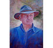 Portrait of Bruce Photographic Print