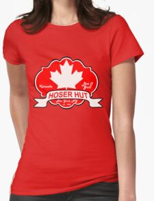 Hoser Hut Womens Fitted T-Shirt