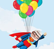 Super Carl Fredricksen by ciaca