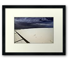 Bilinga Beach Gold Coast Framed Print