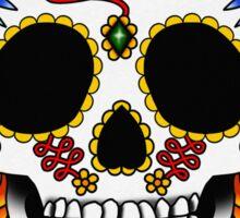 Day of the Dead Flash | Sugar Skull  Sticker
