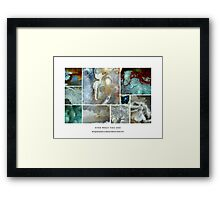 Find What You See Framed Print