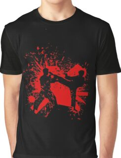 The Bloody Duel of Taekwondo fighters Graphic T-Shirt