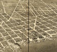Panoramic Maps City of Sandusky O Sticker