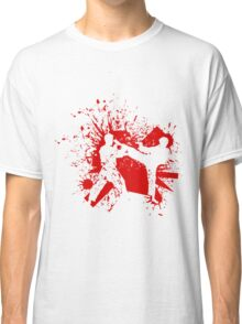 The Bloody Duel of Taekwondo fighters Classic T-Shirt