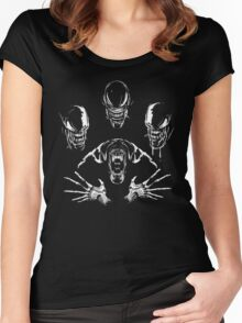Alien Rhapsody- Aliens Shirt Women's Fitted Scoop T-Shirt