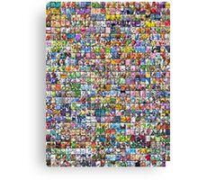 Pokemon Collage Canvas Print