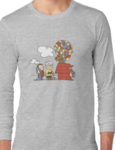 some Peanuts UP there V.2 Long Sleeve T-Shirt
