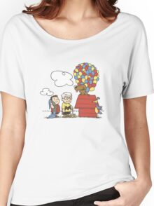 some Peanuts UP there V.2 Women's Relaxed Fit T-Shirt