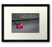 Subsequent Conflicts Framed Print