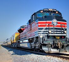 Union Pacific #1996 by J. Michael Runyon