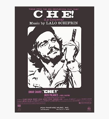 CHE (vintage illustration) Photographic Print