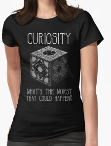 Curiosity Killed... Womens Fitted T-Shirt