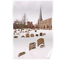 Hadleigh Churchyard Poster