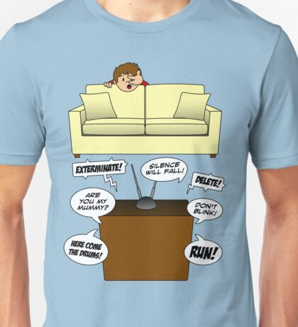 Behind The Sofa! Unisex T-Shirt