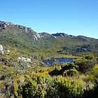 Beautiful Tasmania - a mountain and tarn by georgieboy98