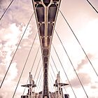 Salford Millenium Bridge by Andreia Moutinho