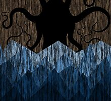 Cthulhu's sea of madness - Brown by Ednathum