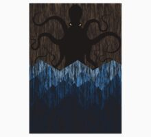 Cthulhu's sea of madness - Brown Baby Tee