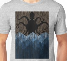 Cthulhu's sea of madness - Brown Unisex T-Shirt