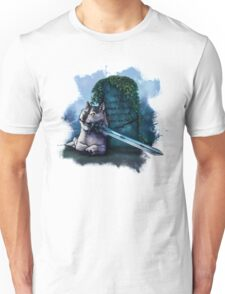 Great Grey Doge Sif Unisex T-Shirt