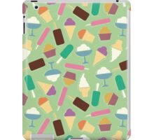 Pattern with ice cream iPad Case/Skin