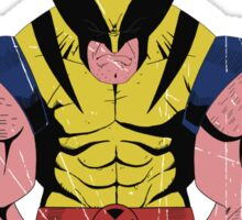 Wolverine X men Sticker