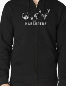 The Marauders Zipped Hoodie