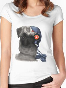 Pugminator Women's Fitted Scoop T-Shirt