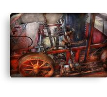 Steampunk - My transportation device Canvas Print