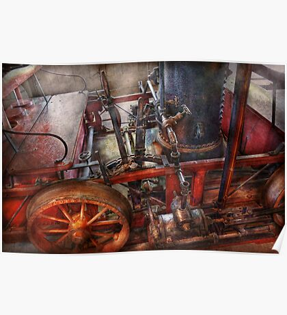 Steampunk - My transportation device Poster