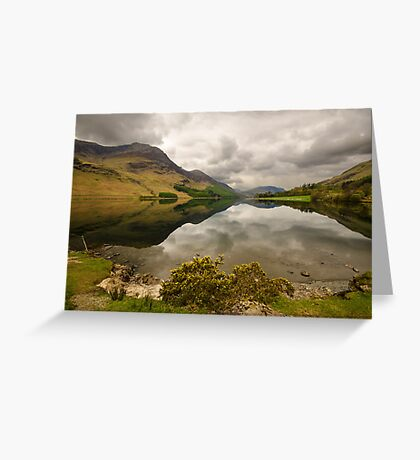 Reflective Buttermere Greeting Card