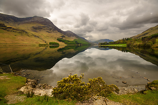 Reflective Buttermere by John Hare