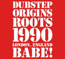 Dubstep Origins (white) ON SALE by DropBass