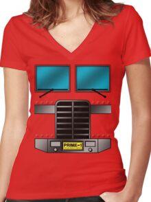 Prime Costume! Women's Fitted V-Neck T-Shirt