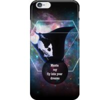 Manta ray in your dreams iPhone Case/Skin