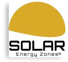 Solar Energy Zones Canvas Print