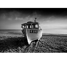 a Branscombe Boat  Photographic Print