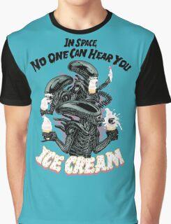 Hear You Ice Cream Graphic T-Shirt