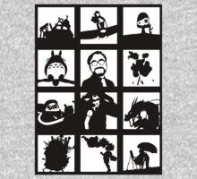 Tribute to Miyazaki One Piece - Long Sleeve