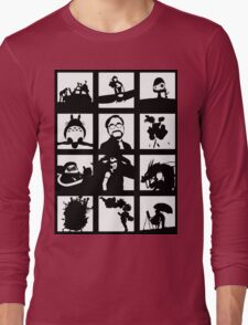 Tribute to Miyazaki Long Sleeve T-Shirt