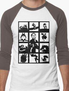 Tribute to Miyazaki Men's Baseball ¾ T-Shirt