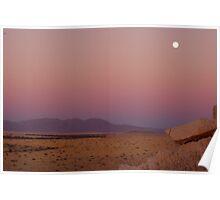 Sunset, Namib Desert Namibia 2 Poster