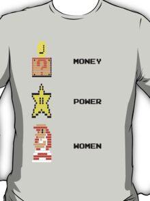Super Mario Money Power Women T-Shirt