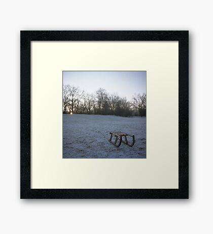 sleigh Framed Print