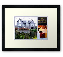 The Old Vicarage Guesthouse Framed Print