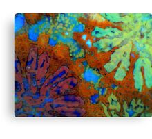 Floral Coral Canvas Print