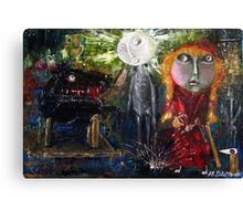 Little Red Riding Hood - Reactivation Canvas Print